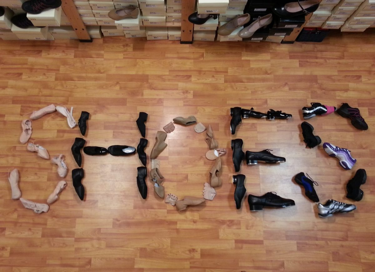 Dancers' Boutique-shoes-spelled-with-shoes