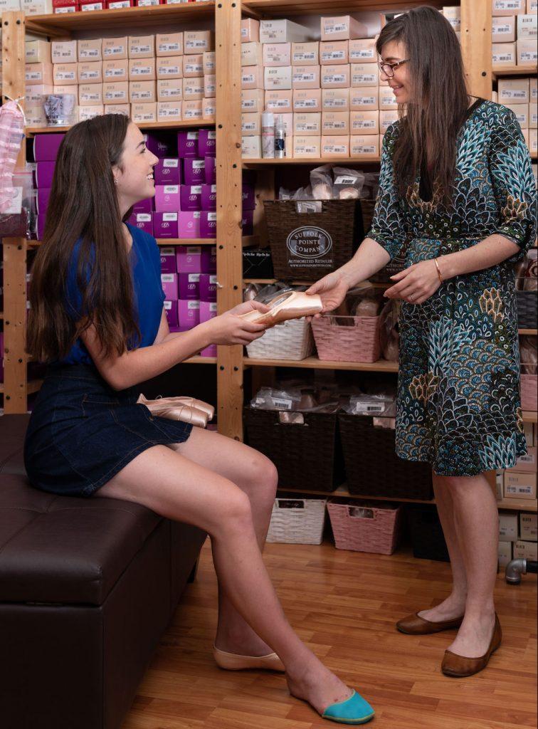 Dancers'Boutique-friendly service